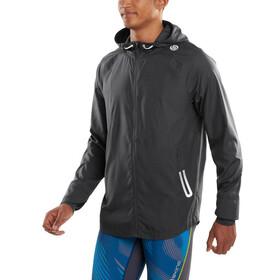 Skins Plus-Capacity Packable Lightweight Jacket Herre tarmac